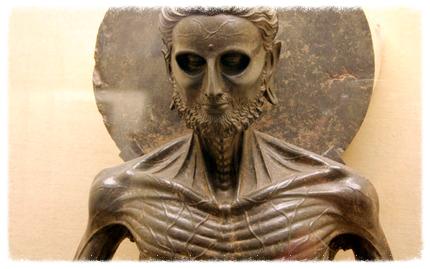 Gandhara-Bhuddist-Sculpture-Lahore-Museum-Starving-Buddha-Detail-web
